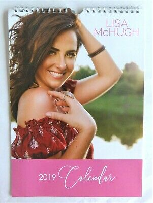 Lisa McHugh 2019 Calendar Excellent Condition Size A4 Wall Hanging