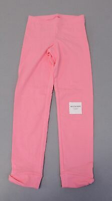 Old Navy Girls Full-Length Built-In Tough Mid Rise Leggings MW7 Pink Small (6-7)