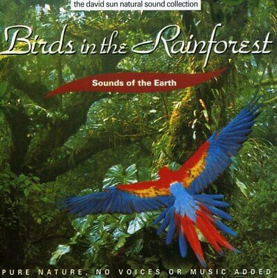 Sounds Of Earth: Birds In Rainforest Various New Cd