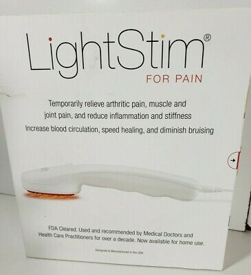 LightStim FDA Cleared LED Light Hand-held Pain Relief New