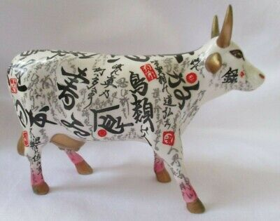 """Cow Parade """"Horns In The Sky"""" 2003 Figurine"""
