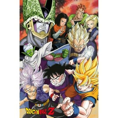 DRAGON BALL Z - CELL SAGA POSTER 24x36 - 3261