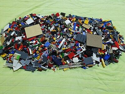 2kg Genuine Bulk Lego - Mixed Bricks, Pieces (8kgs in photos) - 4 lots available