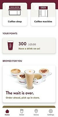 £3 Costa Coffee Hot Drink Winter Voucher Coupon Gift Card Deal discount