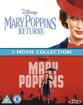 Mary Poppins: 2-movie Collection Blu-ray (2019) Julie Andrews, Stevenson (DIR)