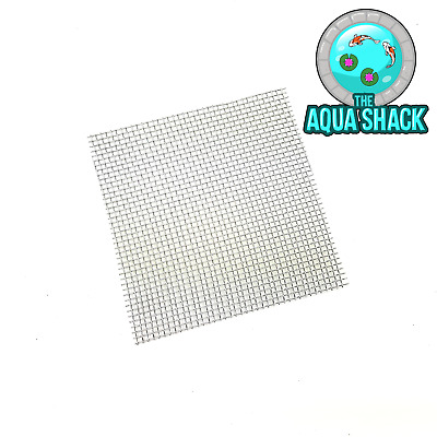 Mesh Pad for Aquarium Moss - Stainless Stell 8x8cm Plant Aquascaping Wire Fish