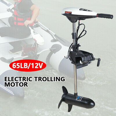 Hangkai 65LBS Electric Outboard Motor Inflatable Fishing Boat Engine F5-R2 660W