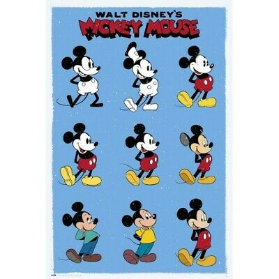 Mickey Mouse Evolution 61cm x 91.5cm PP33309-566 Maxi Poster