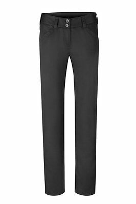 Greiff Ladies Chef Trousers Model 5316 Black Sz. 36 New
