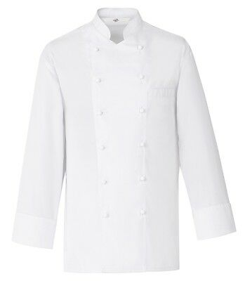 Greiff Chef Jacket White without Buttons 2422900 Sz. 48 New