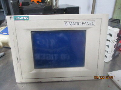 Siemens Simatic Touch Panel T P070 S C-P6F01011 #10231031M Used