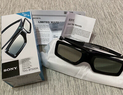 OFFICIAL SONY 3D glasses active shutter TDG-BT500A from Japan with track number