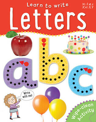 Wipe-Clean: Learn to Write Letters by Belinda Gallagher (Paperback / softback)