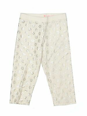 Crewcuts Girls Ivory Leggings 10