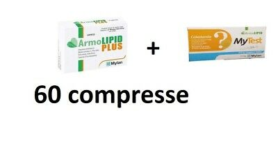 armolipid plus 60 compresse + mytest TEST verifica colesterolo totale
