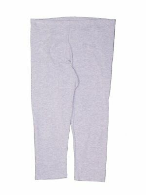 Faded Glory Girls Gray Leggings 10