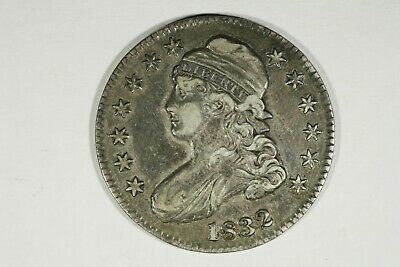 1832 Capped Bust Half, Small Letters, O-103 R1, XF