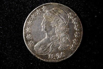 1826 Capped Bust Half, O-102, XF
