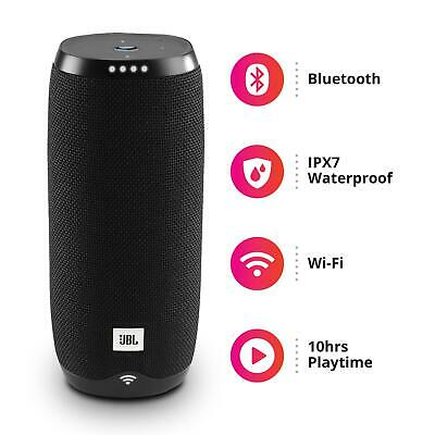 JBL Link 20 Portable Wireless Smart Speaker Bluetooth Rechargable Google Home