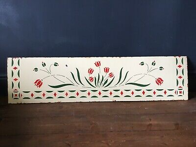 Vintage Enamel Kitchen Splashback, Art Deco Style