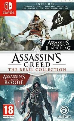 Nintendo Switch : Ubisoft Assassins Creed: The Rebel Colle VideoGames***NEW***