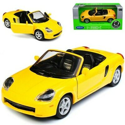 Toyota mr2 azul Spyder convertible w3 zzw30 1999-2007 ca 1//43 1//36-1//46 Welly Model...