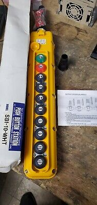 Magnetek SBI SBI-10-WHT PENDANT PUSHBUTTON CONTROL STATION 10-BUTTON new in box