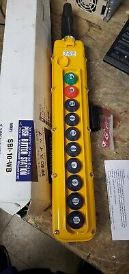 Magnetek SBI SBI-10-Wb PENDANT PUSHBUTTON CONTROL STATION 10-BUTTON new in box