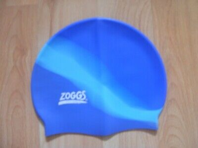 Blue Zoggs Kids George Pig Silicone Swimming Cap