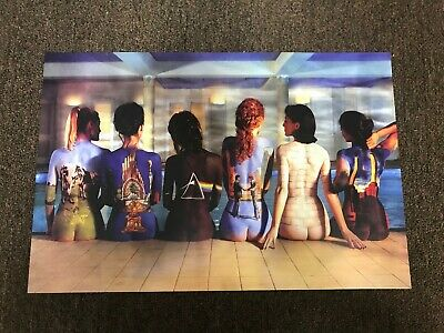 PINK FLOYD WOMEN BACK ALBUM COVERS POSTER NEW 24X36 PRINT IMAGE PHOTO