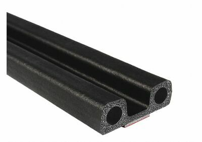 Trim Lok Inc Lid Seal, Double Bulb, 25 ft. L, Foam  EPDM  X402BT-25 X402BT-25  -