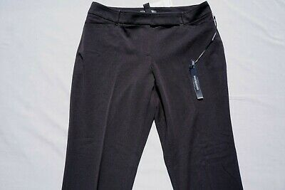 WHBM White House Black Market Seasonless Casual Stretch Slim Pants Size 8R NWT