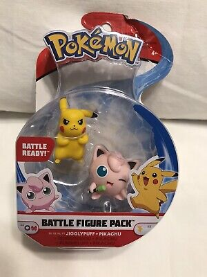 Pokemon Snubbull and Eevee Battle Figure Pack New in Package