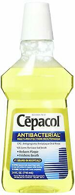Antibacterial Multi-Protection Mouthwash 24 oz (Pack of 2)