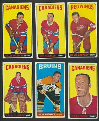 1964-65 Topps NHL Hockey Cards  U-Pick Choose Single Cards to Complete Set