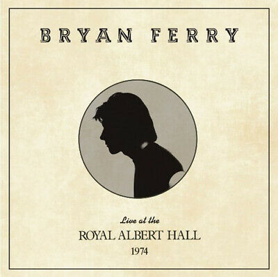 Bryan Ferry : Live at the Royal Albert Hall 1974 CD (2020) ***NEW*** Great Value