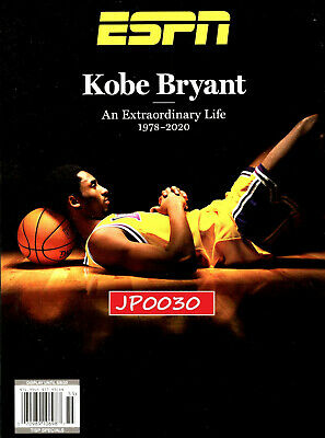Kobe Bryant - ESPN Magazine - Special Edition 2020 Tribute Issue, New/Sealed