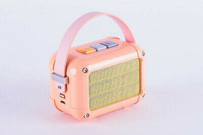 Divoom Macchiato Retro Portable Wireless Bluetooth Speaker with FM Radio