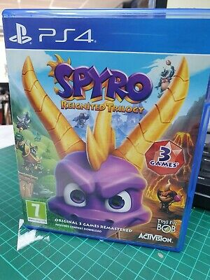 Spyro Reignited Trilogy (Sony PlayStation 4, 2018)