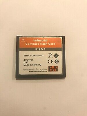 B&R SSD-C512M-0101 Industrial Compact Flash Card