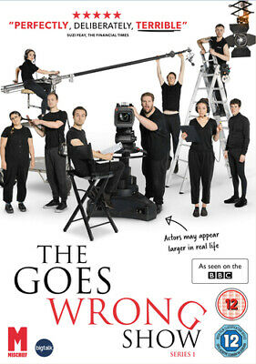 The Goes Wrong Show: Series 1 DVD (2020) Henry Shields cert 12 ***NEW***