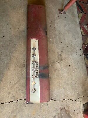 International IH Farmall  Hood Side Cover 300 350 LEFT antique Tractor