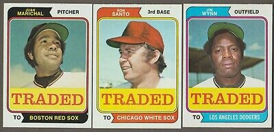 1974 Topps Traded Baseball - You Pick - Nmmt Sharp - Free Shipping