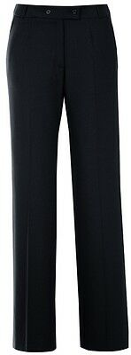 "Greiff Ladies Trousers "" Paula "" Model 1331 Black Sz. 42 New"