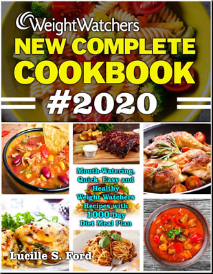 WEIGHT WATCHERS NEW COMPLETE COOKBOOK 2020  Mouth-Watering Quick Vintage {P.D.F}