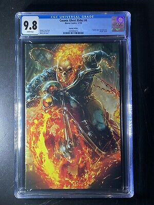 BATTLE LINES VARIANT CGC 9.8 COSMIC GHOST RIDER #4