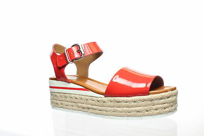 Nine West Womens Layla Red Espadrilles Size 11 (878349)