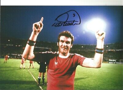 Peter Withe Aston Villa Authentic Hand Signed 12 x 8 inch football photo SS031