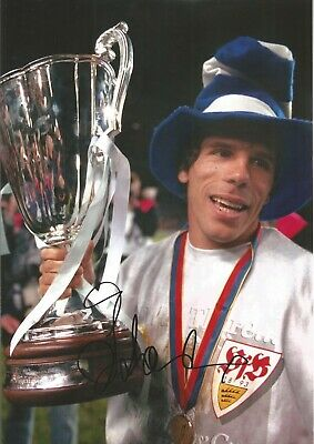 Gianfranco Zola Chelsea Authentic Hand Signed 10 x 8 inch football photo SS074