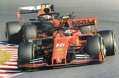 Charles Leclerc Authentic Signed New 2019 F1 12X8 Photo Aftal#198